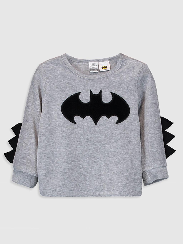 Erkek Bebek Erkek Bebek Batman Baskılı Pijama Takımı