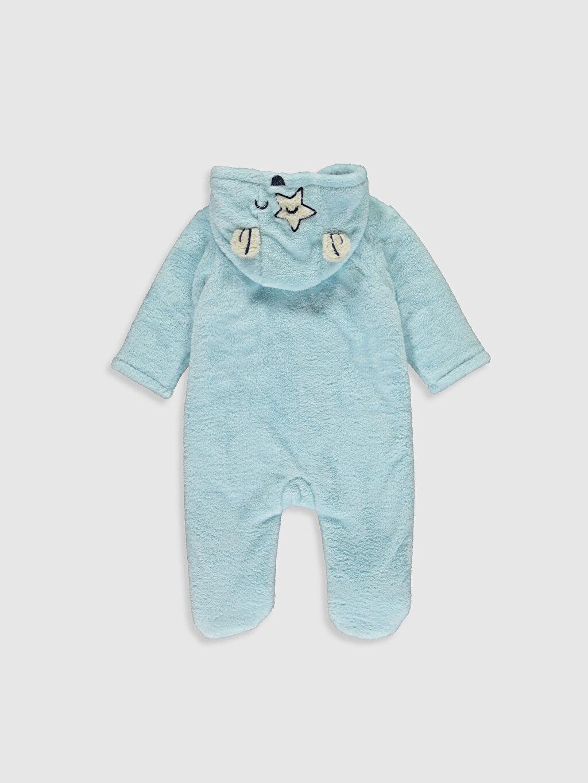 %100 Polyester %98 Pamuk %2 Polyester Tulum Erkek Bebek Pelüş Tulum