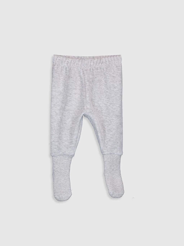 Erkek Bebek Erkek Bebek Çoraplı Pijama Alt 2'li