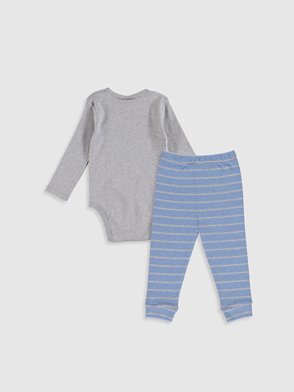 %100 Pamuk Standart Pijamalar Erkek Bebek  Pijama Takımı