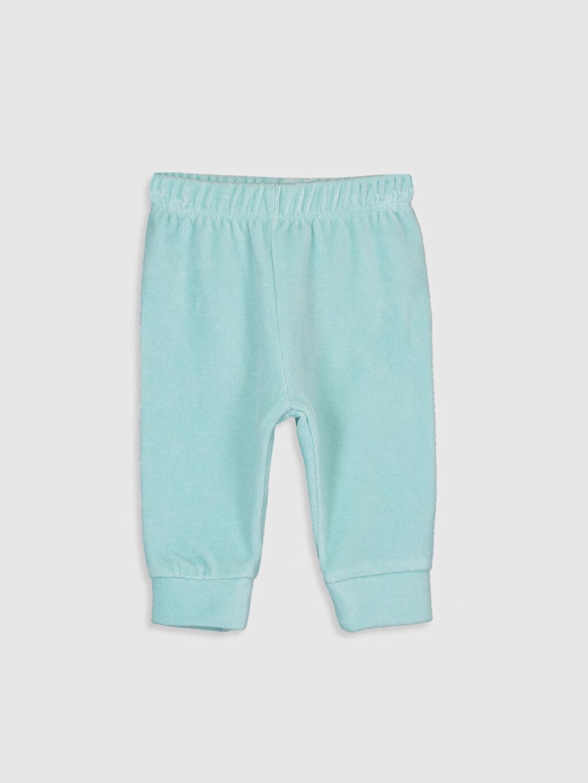 Kız Bebek Kız Bebek Kadife Pijama Alt 2'li