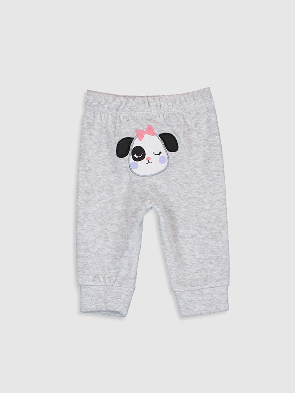 Kız Bebek Kadife Pijama Alt 2'li