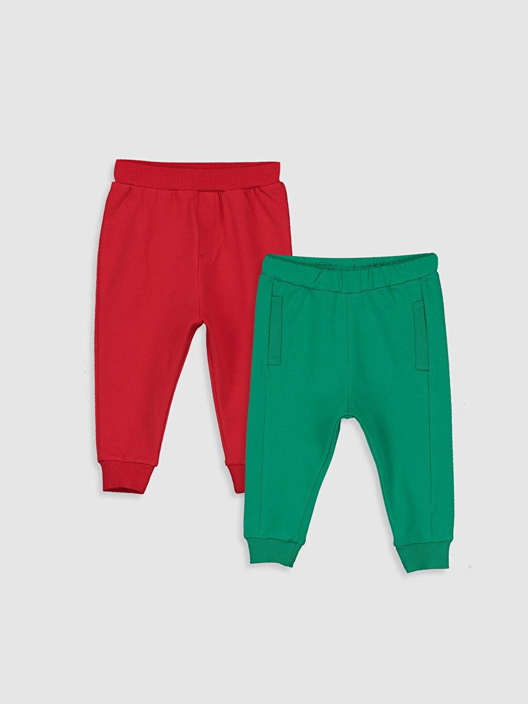Yeşil Erkek Bebek Pantolon 2'li 9W8863Z1 LC Waikiki