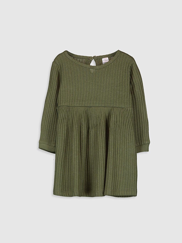 Haki Kız Bebek Elbise 9W9463Z1 LC Waikiki