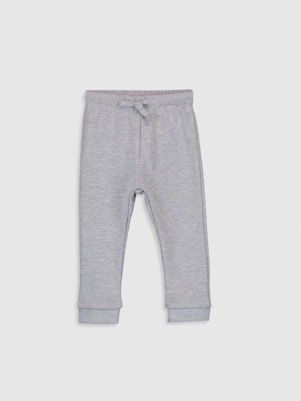 LC Waikiki Mavi Erkek Bebek Swearshirt ve Pantolon