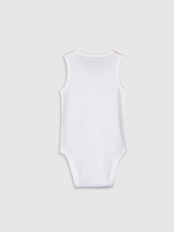 %100 Pamuk  Erkek Bebek Çıtçıtlı Body