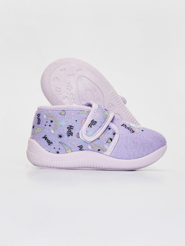 Kız Bebek Kız Bebek Hello Kitty Cırt Cırtlı Ev Ayakkabısı
