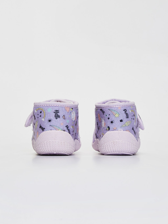 Kız Bebek Hello Kitty Cırt Cırtlı Ev Ayakkabısı