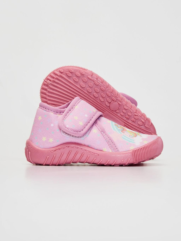 Kız Bebek Kız Bebek Cırt Cırtlı Ev Ayakkabısı