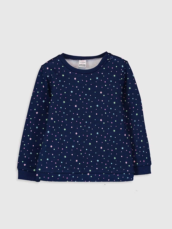 Kız Bebek Kız Bebek Desenli Sweatshirt 2'li