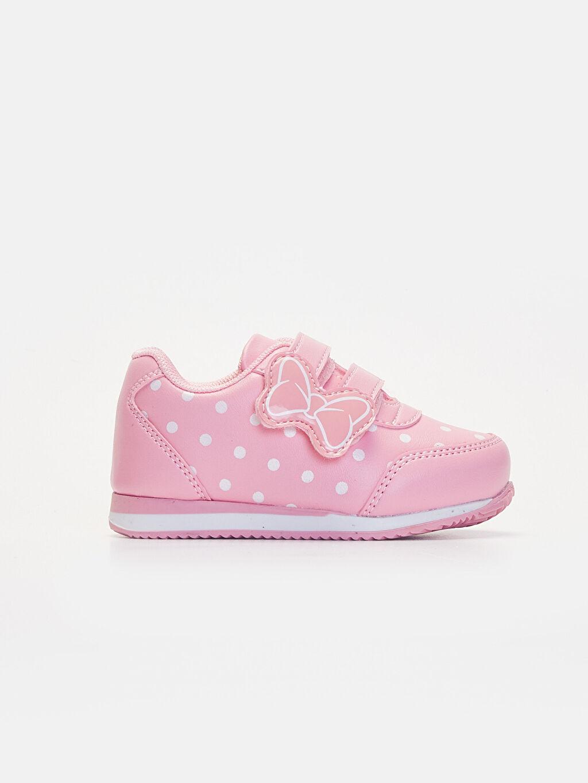 Pembe Kız Bebek Puantiyeli Günlük Ayakkabı 9WJ043Z1 LC Waikiki