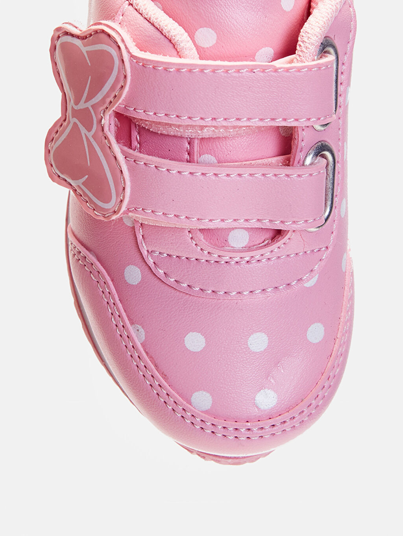 LC Waikiki Pembe Kız Bebek Puantiyeli Günlük Ayakkabı