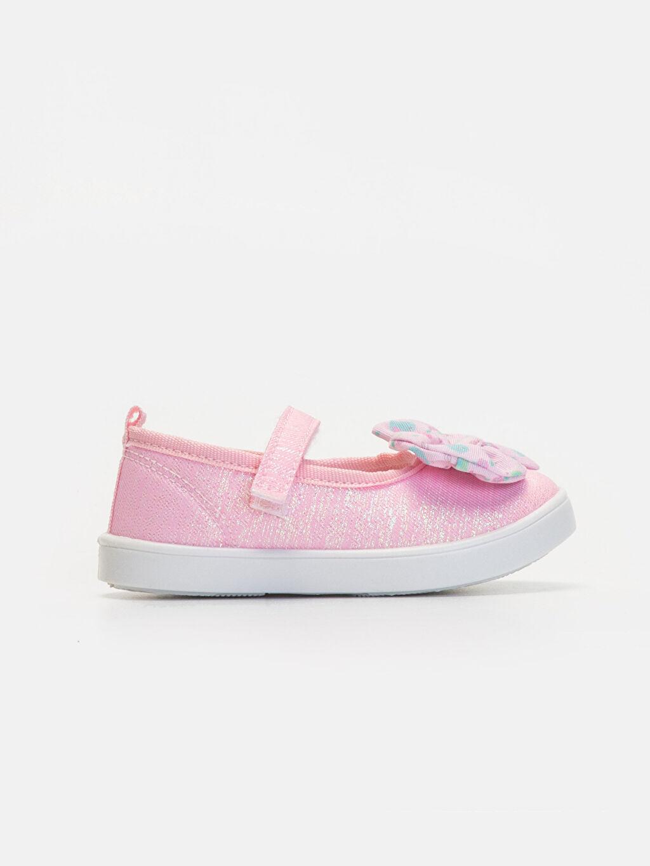 Pembe Kız Bebek Babet Ayakkabı 9WJ057Z1 LC Waikiki