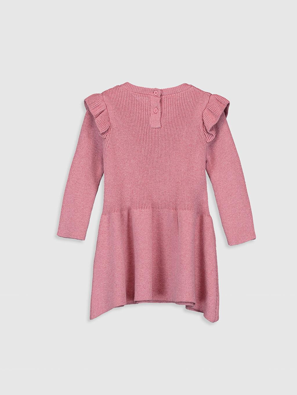 %100 Pamuk  Kız Bebek Triko Elbise