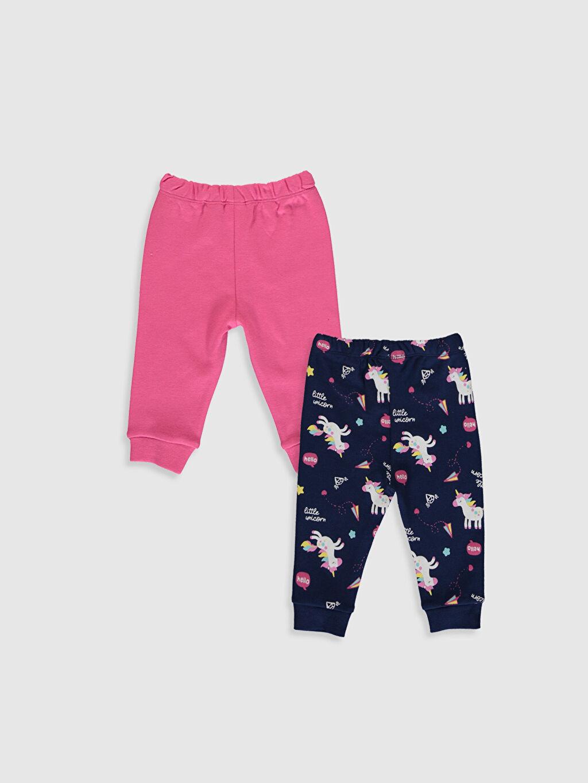 %100 Pamuk Standart Kız Bebek Pijama 2'li