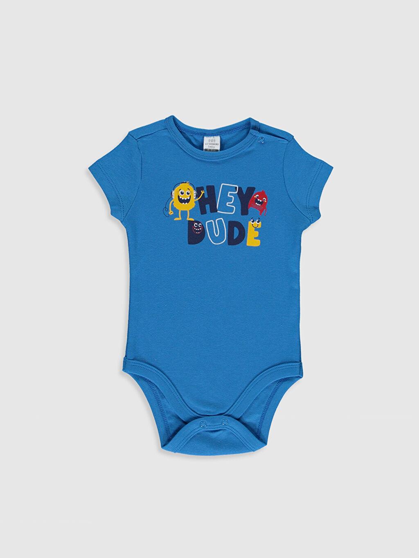 Erkek Bebek Erkek Bebek Pamuklu Çıtçıtlı Body 2'li