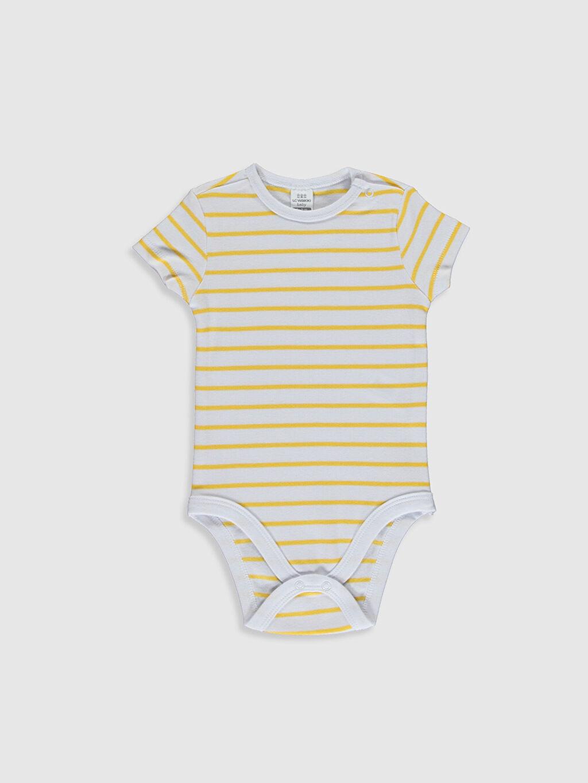 Erkek Bebek Pamuklu Çıtçıtlı Body 2'li