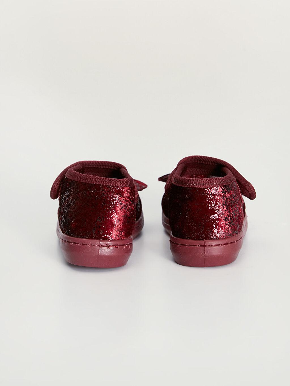 Kız Bebek Fiyonklu Babet Ayakkabı