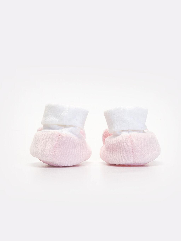 Kız Bebek Çoraplı Ayakkabı