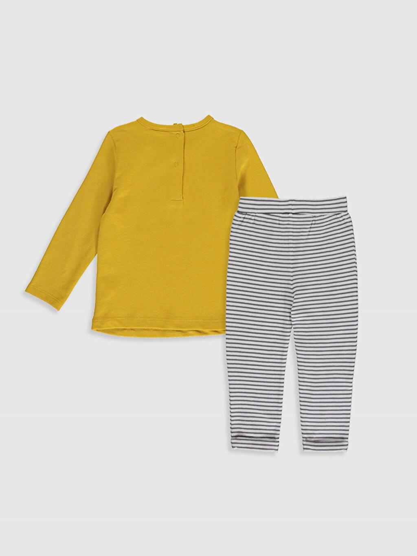 %96 Pamuk %4 Elastan  Erkek Bebek Tişört ve Pantolon