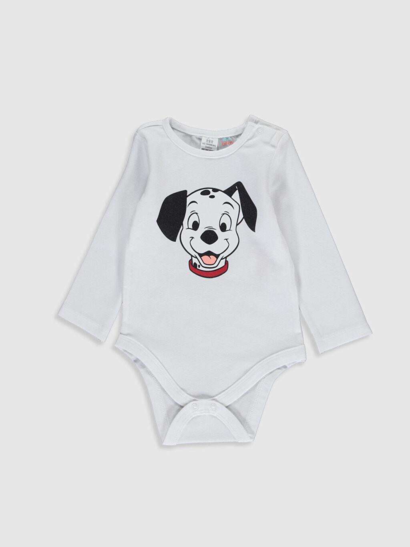 Erkek Bebek Yenidoğan Dalmaçyalı Baskılı Takım 3'Lü