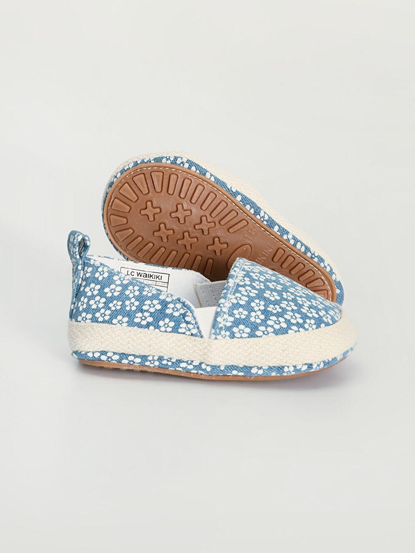 Kız Bebek Kız Bebek Baskılı Babet Ayakkabı