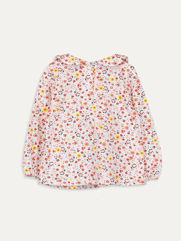 %100 Pamuk Standart Baskılı Uzun Kol Tişört Diğer Kız Bebek Desenli Pamuklu Tişört