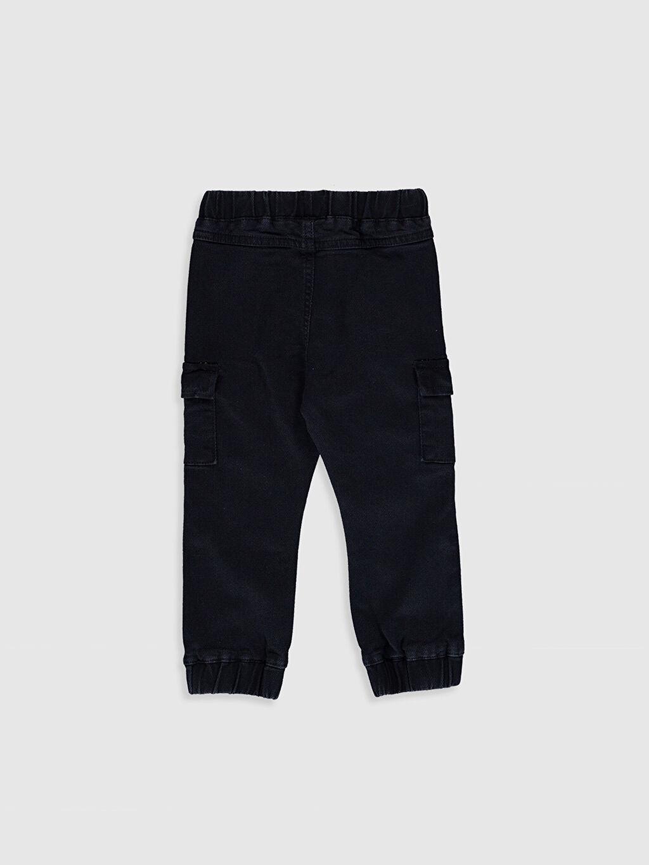 %98 Pamuk %2 Elastan  Erkek Bebek Jean Pantolon