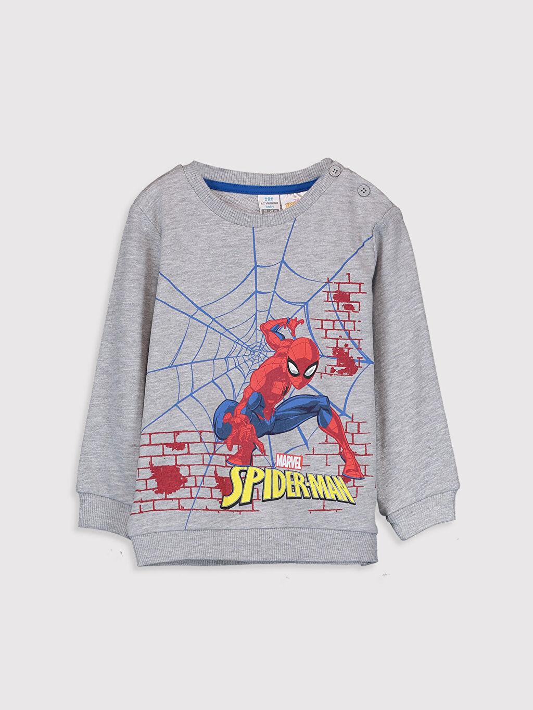 Erkek Bebek Erkek Bebek Spiderman Baskılı Eşofman Takımı