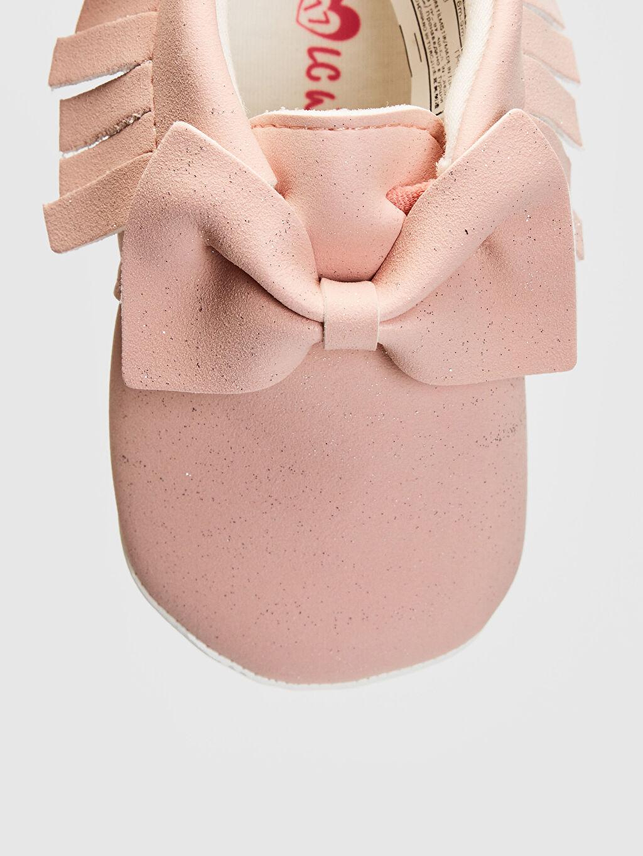 LC Waikiki Pembe Kız Bebek Makosen Ayakkabı