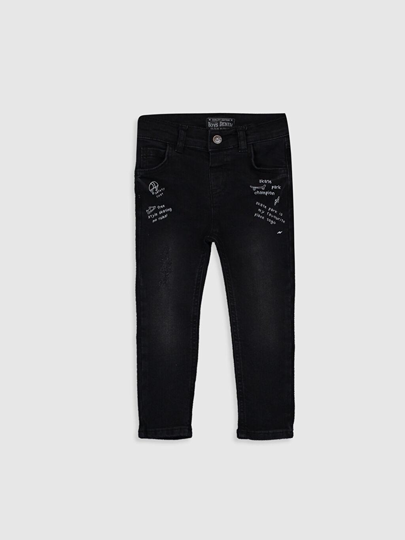 Siyah Erkek Bebek Skınny Fit Jean Pantolon 9WR828Z1 LC Waikiki