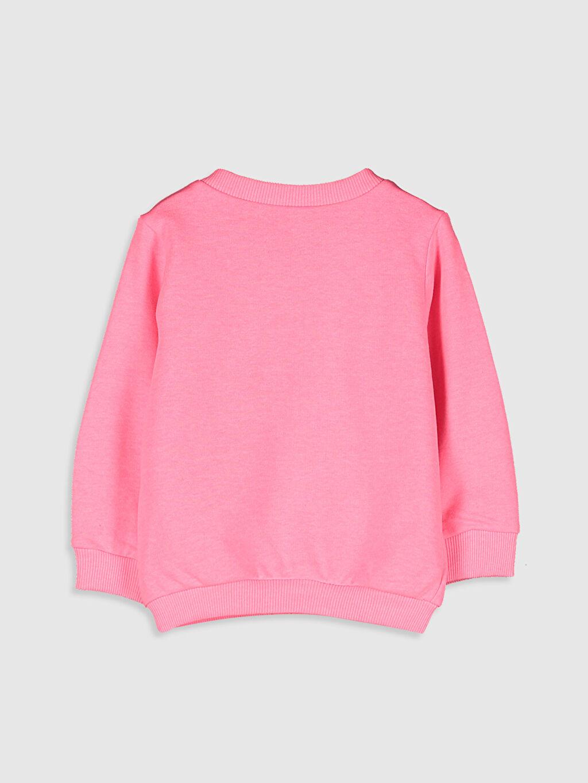 %40 Pamuk %60 Polyester  Kız Bebek Fermuarlı Sweatshirt