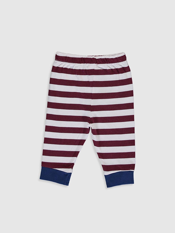 Erkek Bebek Erkek Bebek Çizgili Pijama