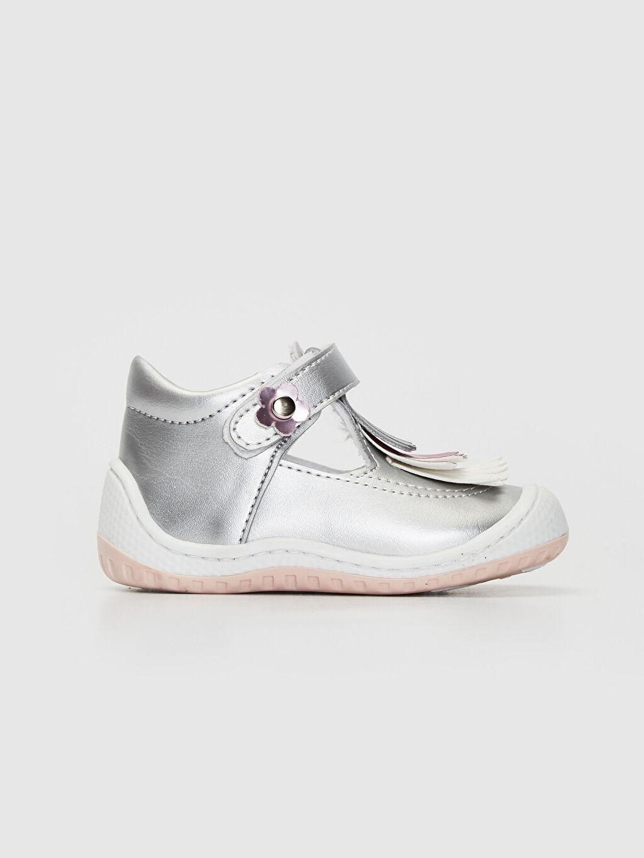 Gri Anatomik Tabanlı İlk Adım Ayakkabısı 9WT076Z1 LC Waikiki