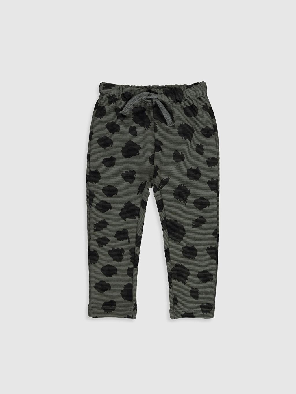 Haki Erkek Bebek Desenli Pantolon 9WT218Z1 LC Waikiki