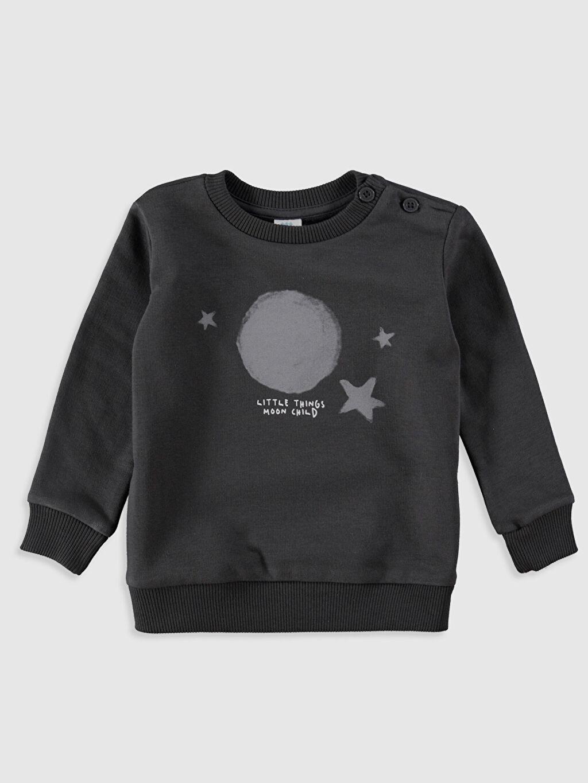 Erkek Bebek Erkek Bebek Desenli Sweatshirt 2'li