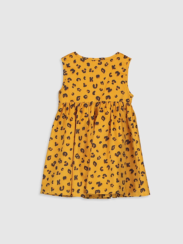 %100 Pamuk Desenli Kız Bebek Pamuklu Desenli Elbise