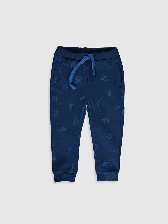 Mavi Erkek Bebek Baskılı Jogger Pantolon 9WT421Z1 LC Waikiki