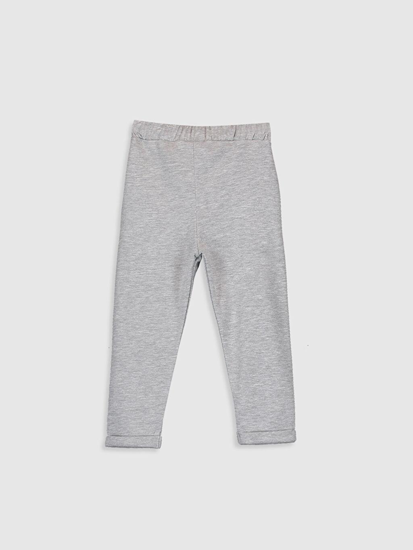 %66 Pamuk %34 Polyester  Kız Bebek Pantolon