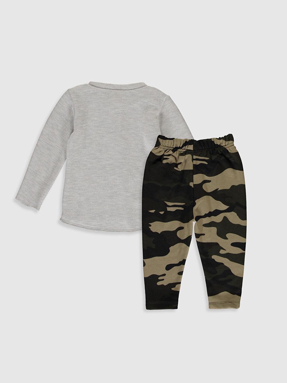 %70 Pamuk %30 Polyester %50 Pamuk %50 Polyester  Erkek Bebek Tişört ve Pantolon