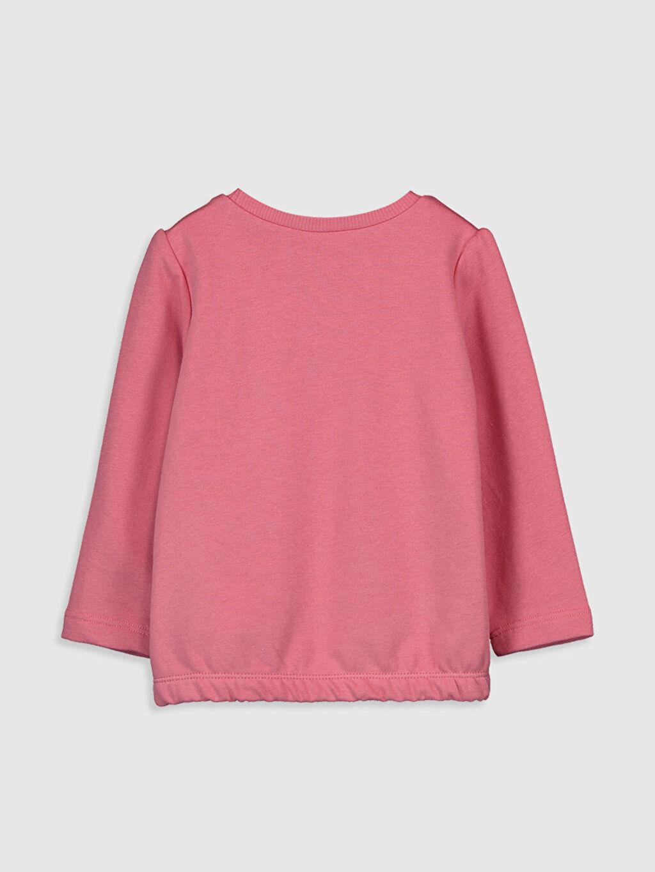 %65 Pamuk %35 Polyester Standart Baskılı Uzun Kol Tişört Bisiklet Yaka Kız Bebek Baskılı Tişört