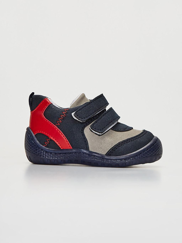 Lacivert Anatomik Tabanlı İlk Adım Ayakkabısı 9WT807Z1 LC Waikiki