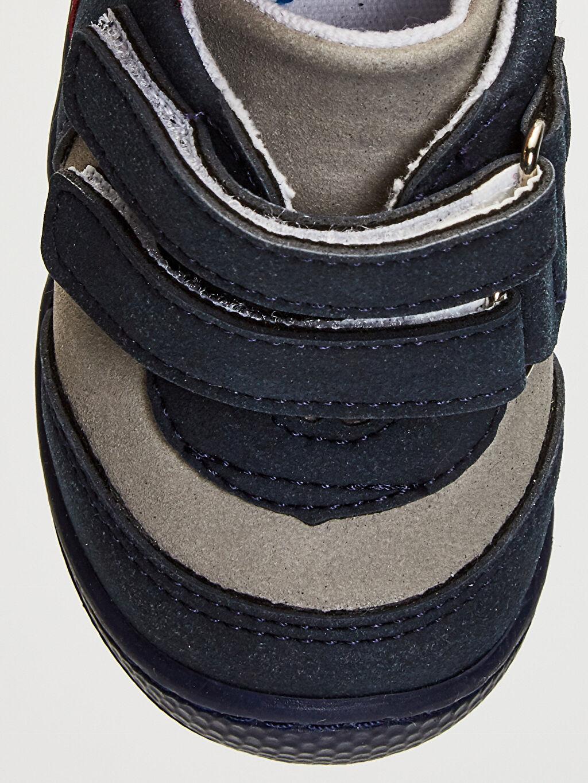 Lacivert Anatomik Tabanlı İlk Adım Ayakkabısı