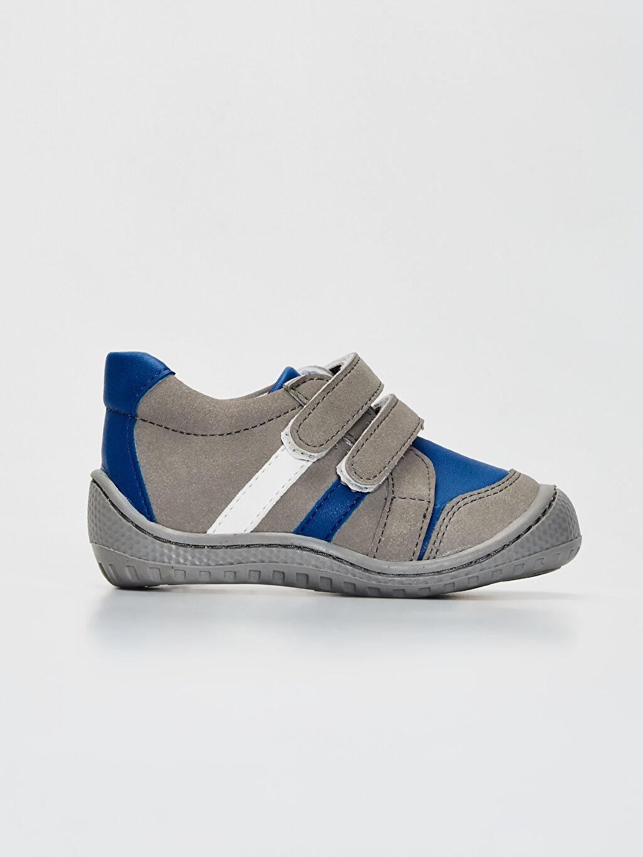 Gri Anatomik Tabanlı İlk Adım Ayakkabısı 9WT809Z1 LC Waikiki