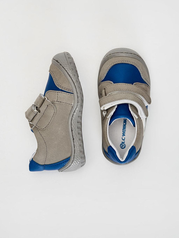 Diğer malzeme (poliüretan) Tekstil malzemeleri  Anatomik Tabanlı İlk Adım Ayakkabısı