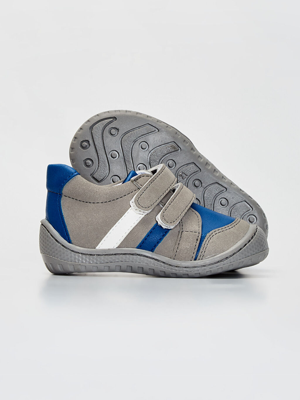 Erkek Bebek Anatomik Tabanlı İlk Adım Ayakkabısı