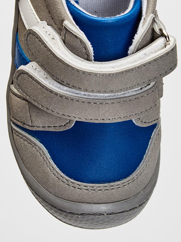 Gri Anatomik Tabanlı İlk Adım Ayakkabısı
