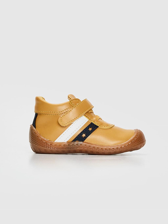 Sarı Anatomik Tabanlı İlk Adım Ayakkabısı 9WT811Z1 LC Waikiki