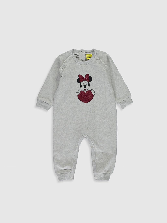 Gri Kız Bebek Minnie Mouse Tulum 9WT830Z1 LC Waikiki