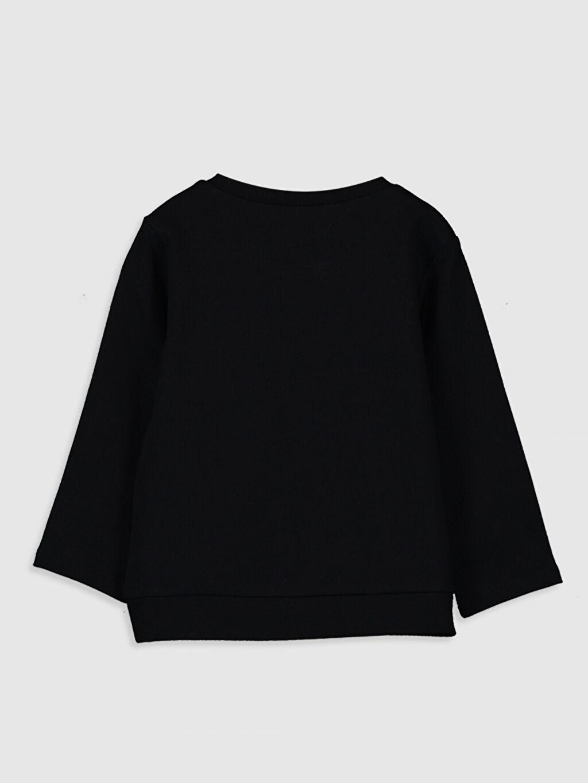 %80 Pamuk %20 Polyester  Erkek Bebek Slogan Yazı Baskılı Sweatshirt